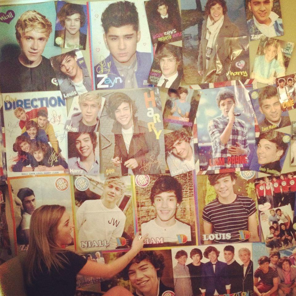 Teenage Room With Posters posters   ultimatemixtape