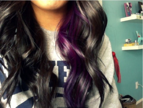 the color of your hair  Wavy Hair Tumblr Back Of Head